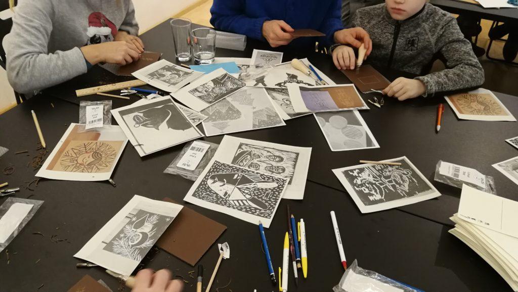 Workshop Linolschnitt