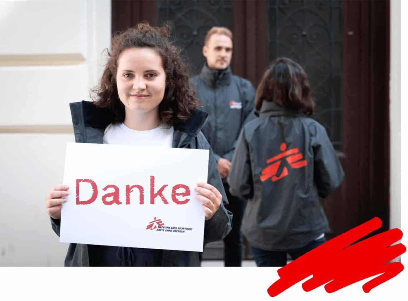 MSF Campaigner Reisekampagne